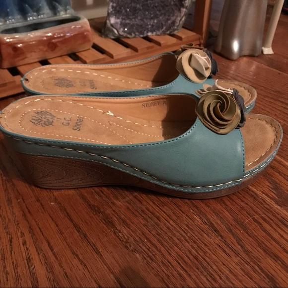 b7a6728fade8 GC Shoes Shoes - GC Shoes Women s Sydney Wedge Slide Sandal